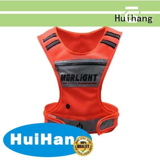 LED USB biker vest