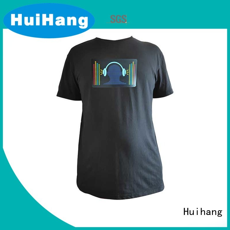 Huihang high quality sound activated shirt factory price for bar