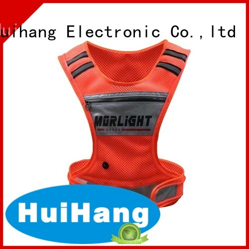 Huihang cool led safety vest cycling owner