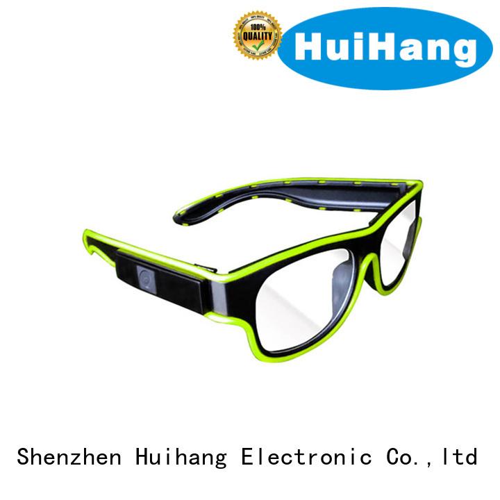 fashion design el wire glasses factory price for concert
