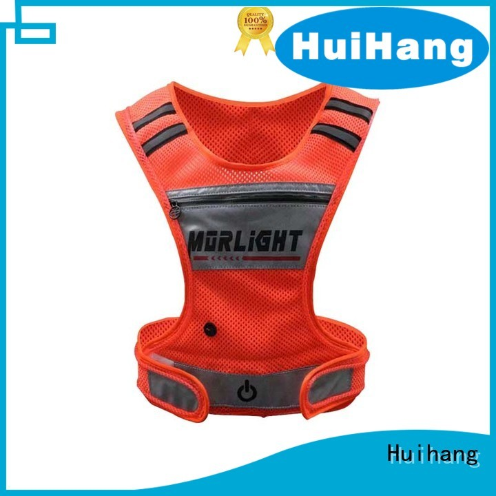 Huihang led cycling vest on sale for club