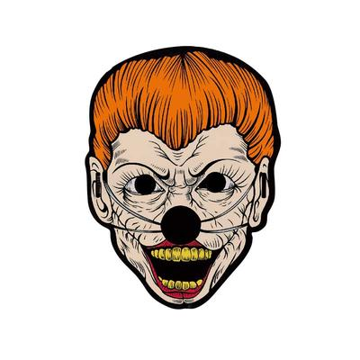 full mask-Halloween Cosplay EL Panel  Mask Light Up Mask for Festival Parties