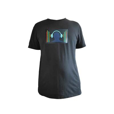 el t-shirt panel sound activated custom LED panels for t shirt