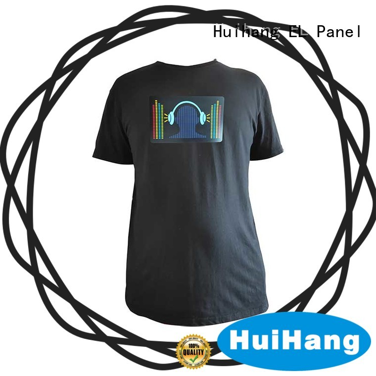 Huihang smooth el panel shirt overseas market for party