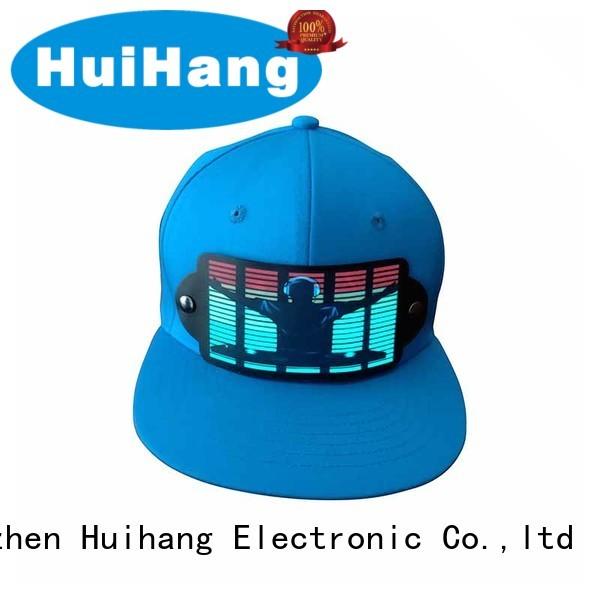 Huihang inexpensive lighting caps promotion for sport meeting