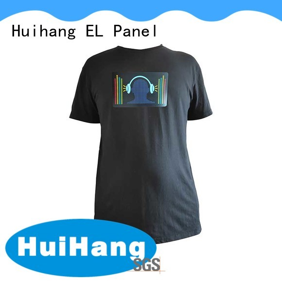 led t shirt for disco Huihang