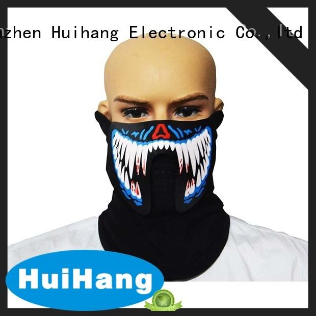 Huihang led face mask vendor for concert