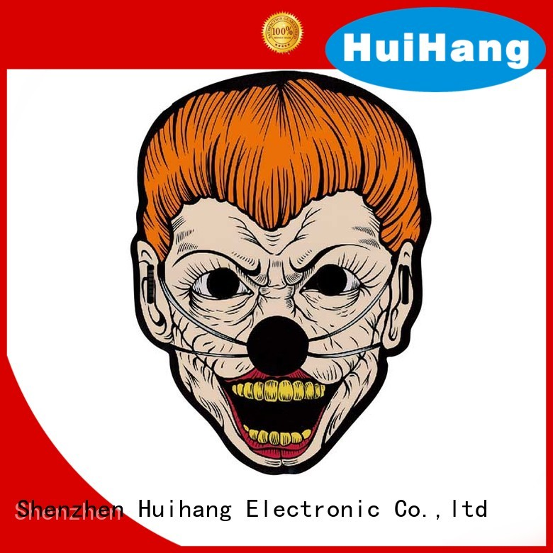 Huihang inexpensive light up mask vendor for party