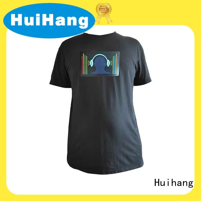 high quality sound activated shirt manufacturer for bar