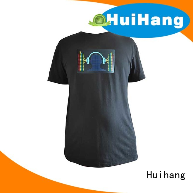 Huihang custom led shirts owner for disco