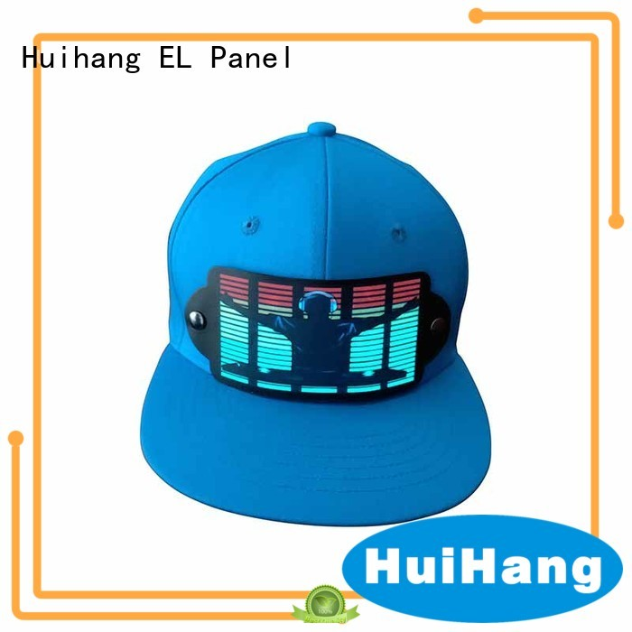Huihang led caps promotion for concert