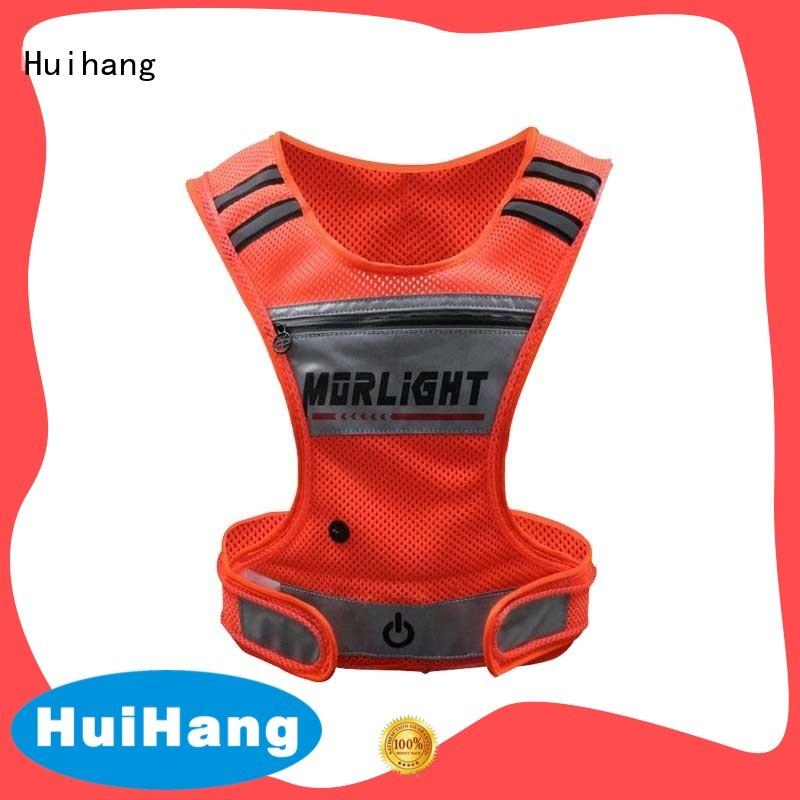 Huihang durable led bike vest supplier