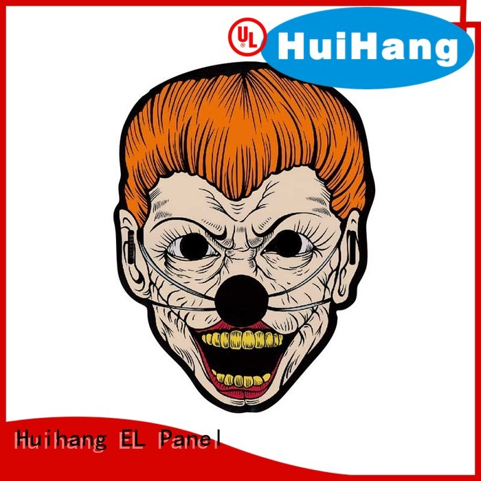 Huihang soft el mask marketing for bar