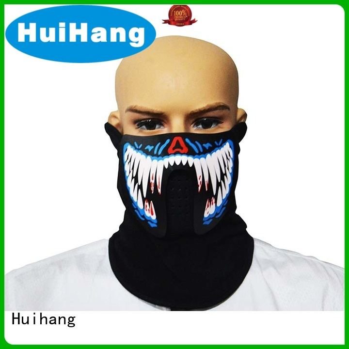 Huihang sound activated led mask manufacturer for bar