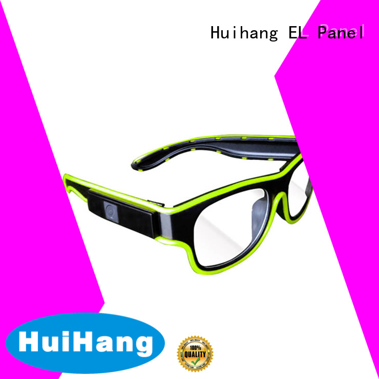 Huihang led flashing glasses overseas market for party