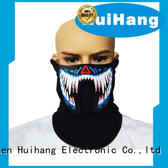 Huihang led light face mask manufacturer for bar