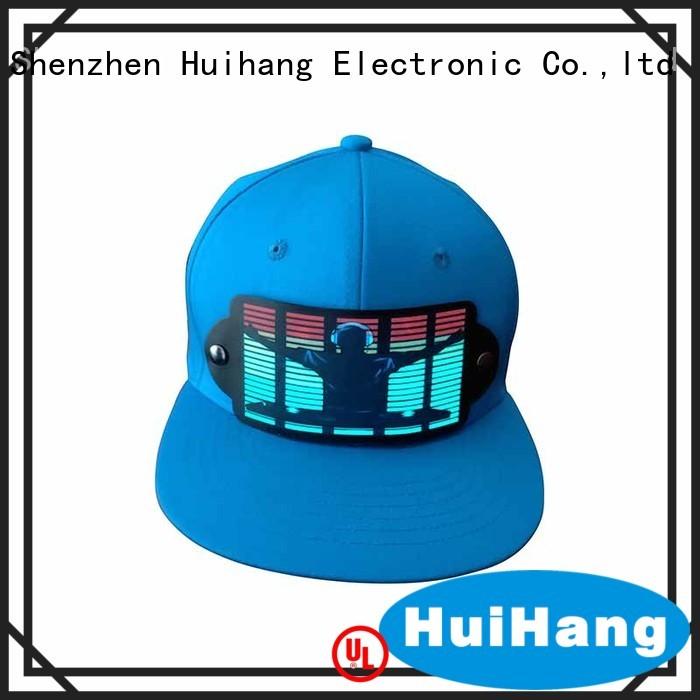 Huihang comfortable led caps on sale for club