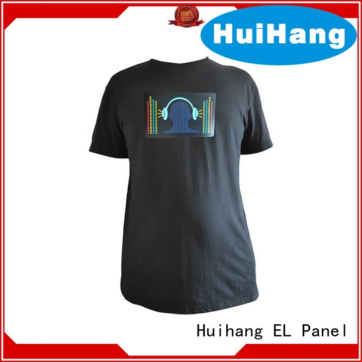 Huihang sound activated shirt owner for concert