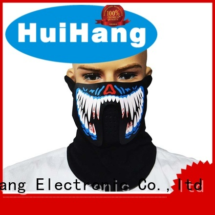 leisure led light face mask manufacturer for disco