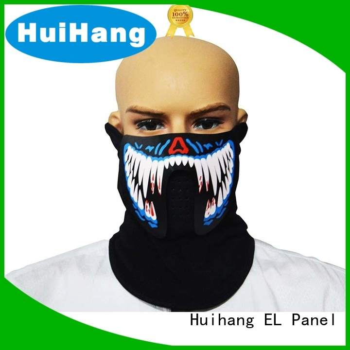 Huihang comfortable led neon mask for club