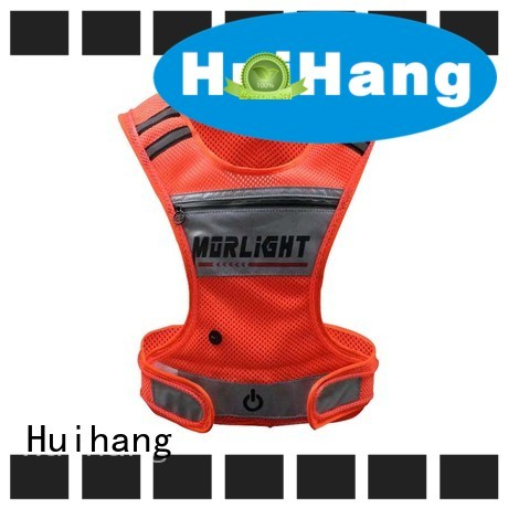 Huihang led safety vest cycling owner for party