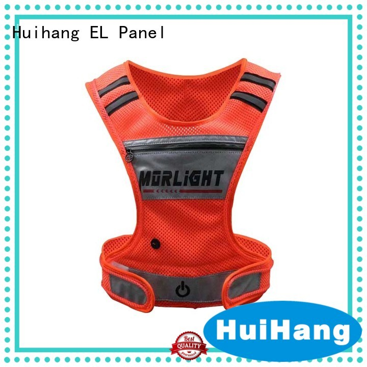 Huihang fashion design led vest promotion for club