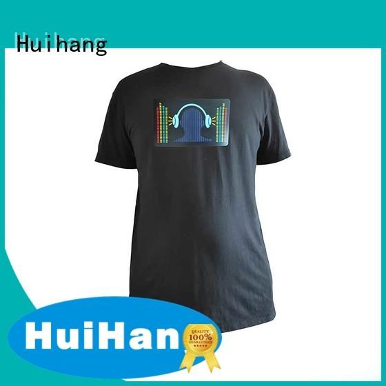 custom led shirts for concert Huihang