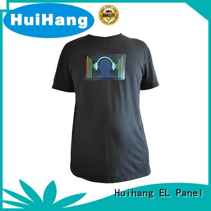 Huihang custom led shirts marketing for disco