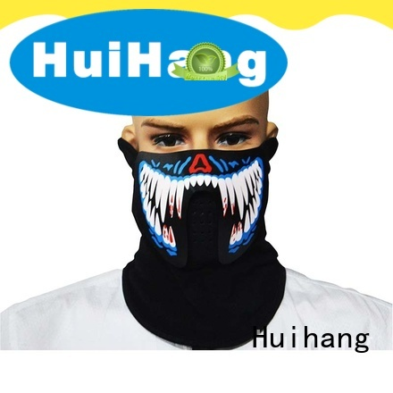 Huihang led light face mask owner for match