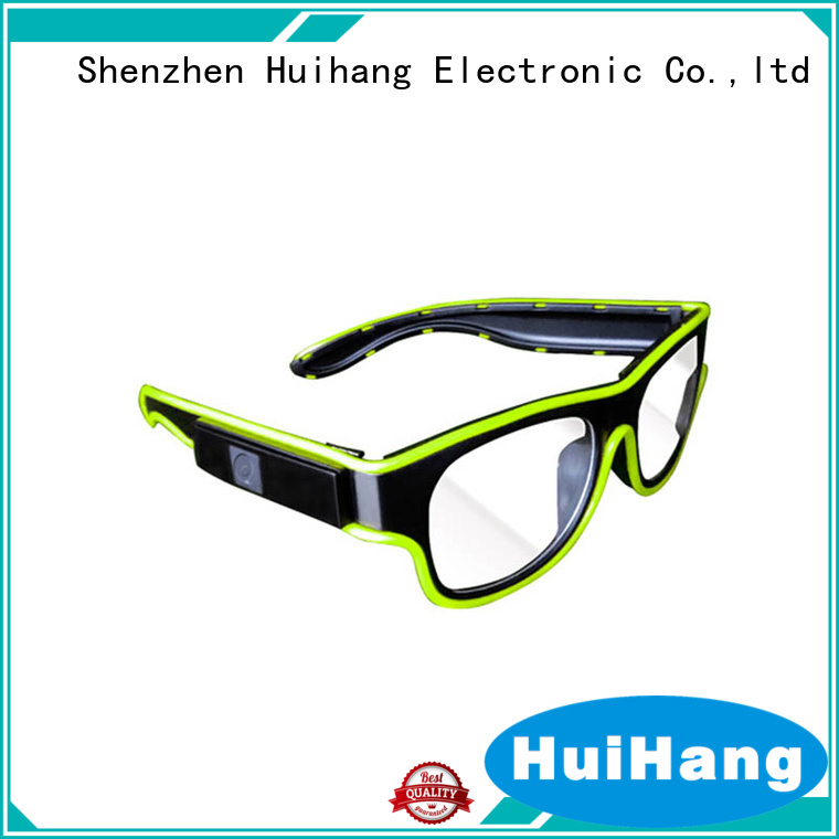 fashion design el wire glasses overseas market for bar