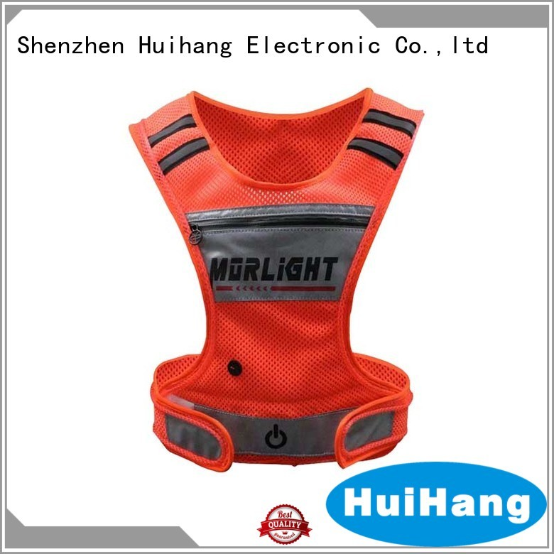 Huihang cool lighted safety vest manufacturer
