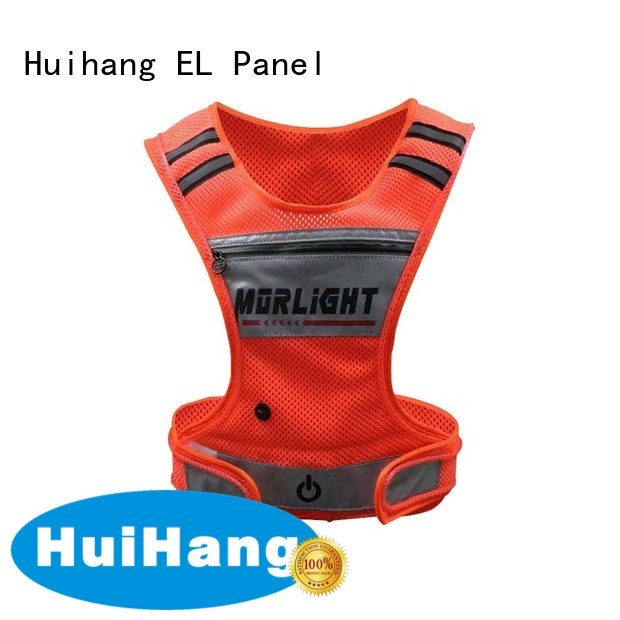 Huihang durable lighted safety vest for club