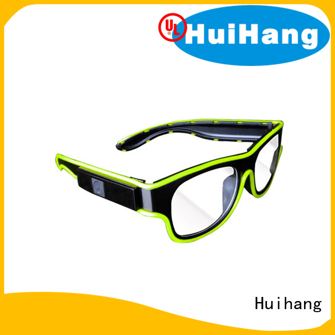 Huihang led flashing glasses owner for concert
