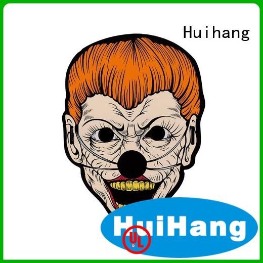 Huihang fashion design led light up mask for club