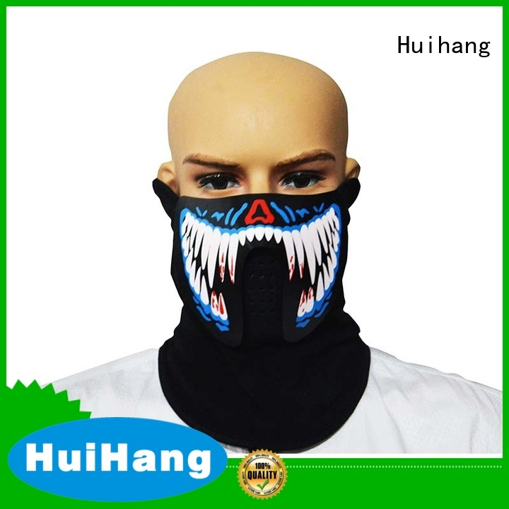 Huihang led face mask supplier for disco