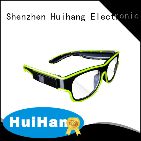 Huihang cool el wire glasses marketing for club