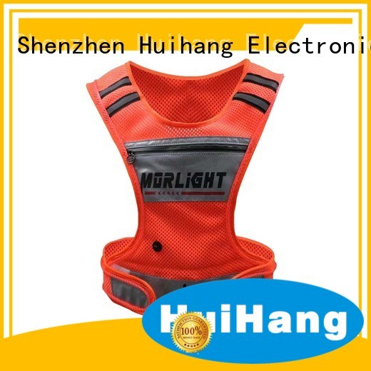 Huihang popular led safety vest cycling directly price for concert