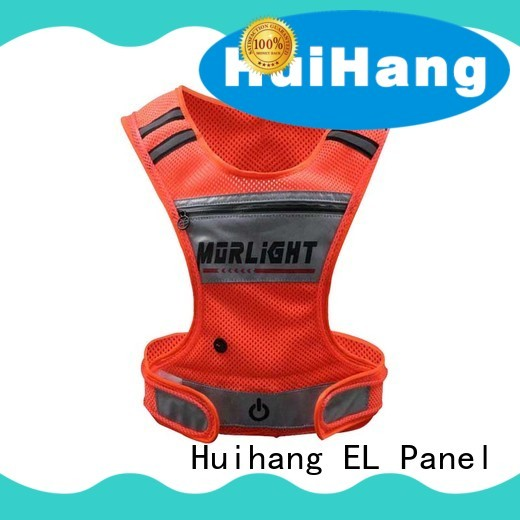 Huihang fashion design lighted safety vest owner for party