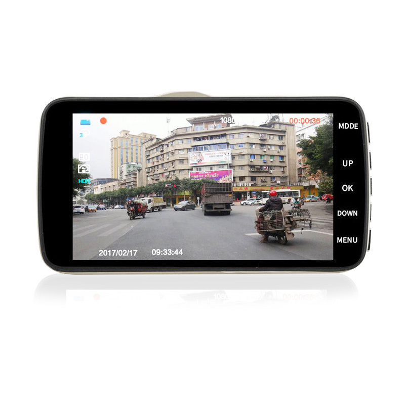 C4 model Resolution 1920 (H) x 1080 (V) 30FPS  front and rear dash cam,best dash cam for car