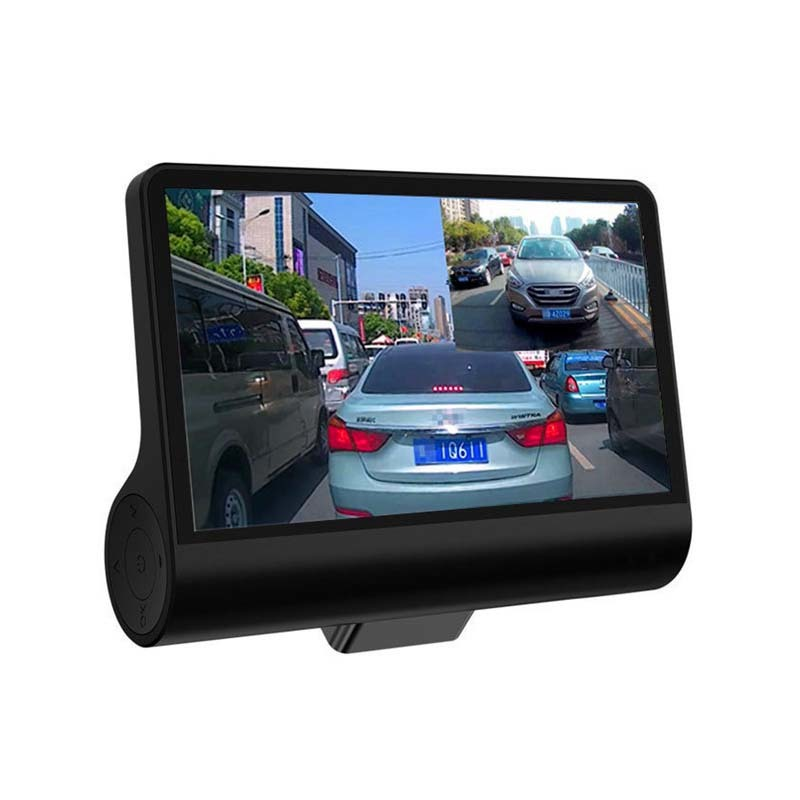 Best C202 Dual Lens Full HD 1080P Car Camera 4.0 inch Night Vision Dash Cam Function Car Black Box with 170 Degree Wide Angle