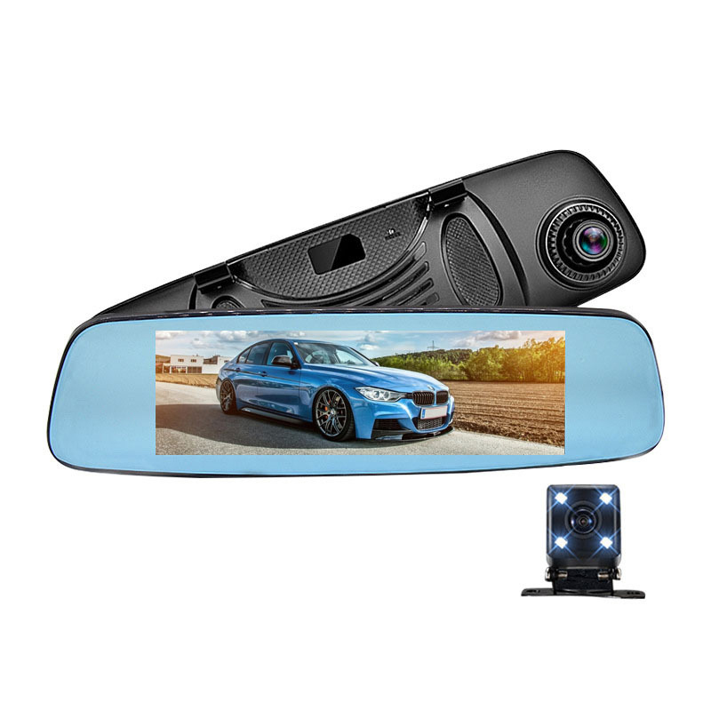 G80 Model Touch panel dual camera with GPS RD 4G,New Back Camera 1080P Car Dash Cam Dual Lens DVR 10'' IPS Touch Screen Rear view Mirror Driving