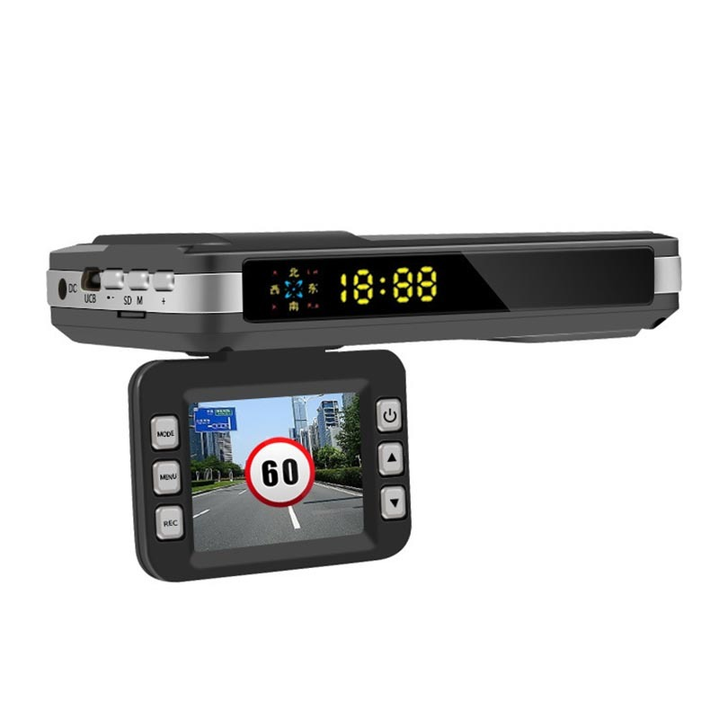 2 in 1 Car dvr with radar detector VGR-11