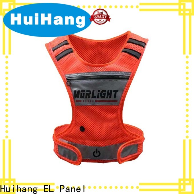 Huihang comfortable led safety vest cycling owner for club