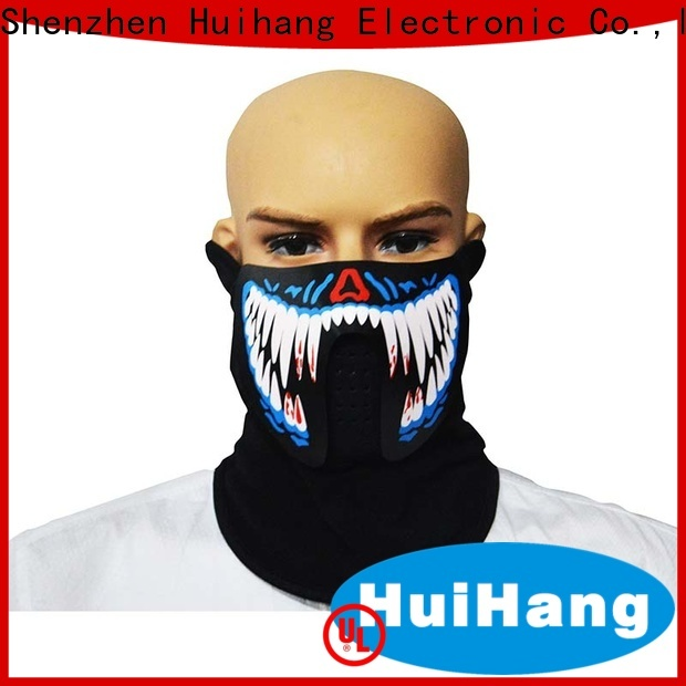 Huihang simple led face mask vendor for club