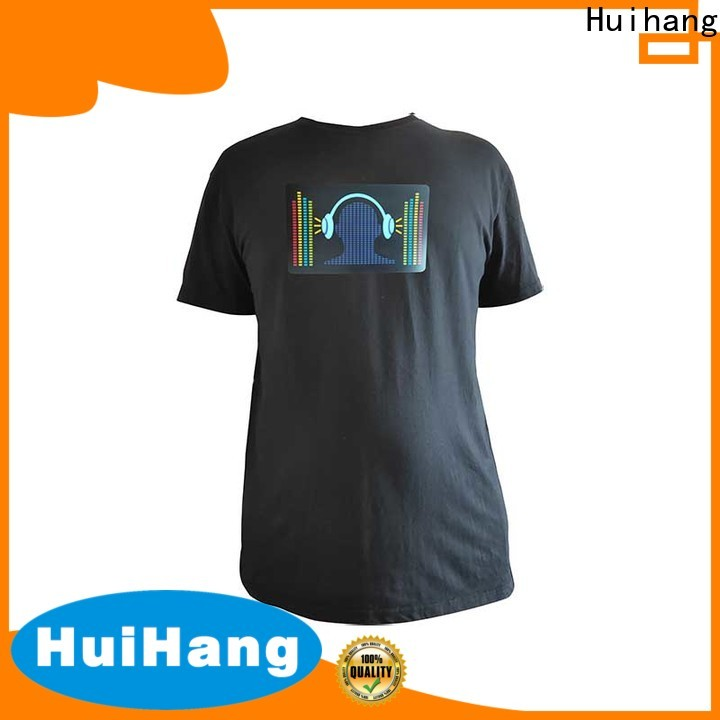 comfortable sound activated shirt overseas market for bar