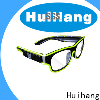 Huihang el wire glasses marketing for club