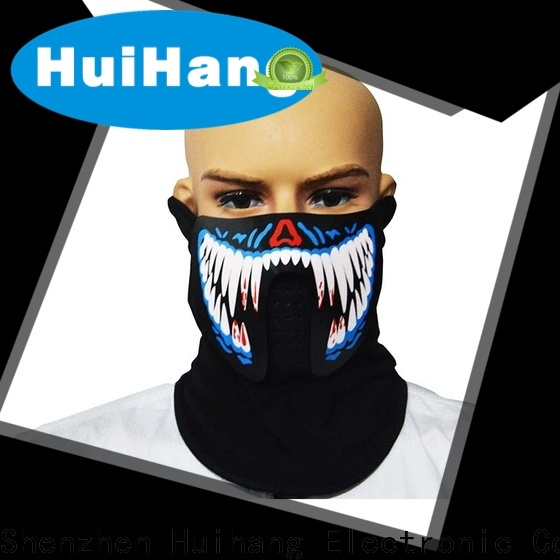 Huihang cool led light face mask order now for match