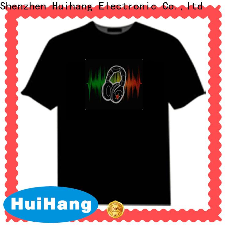 Huihang sound activated shirt manufacturer for concert