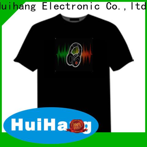 Huihang led t shirt supplier for concert