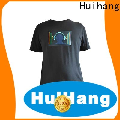 Huihang leisure sound activated shirt manufacturer for party